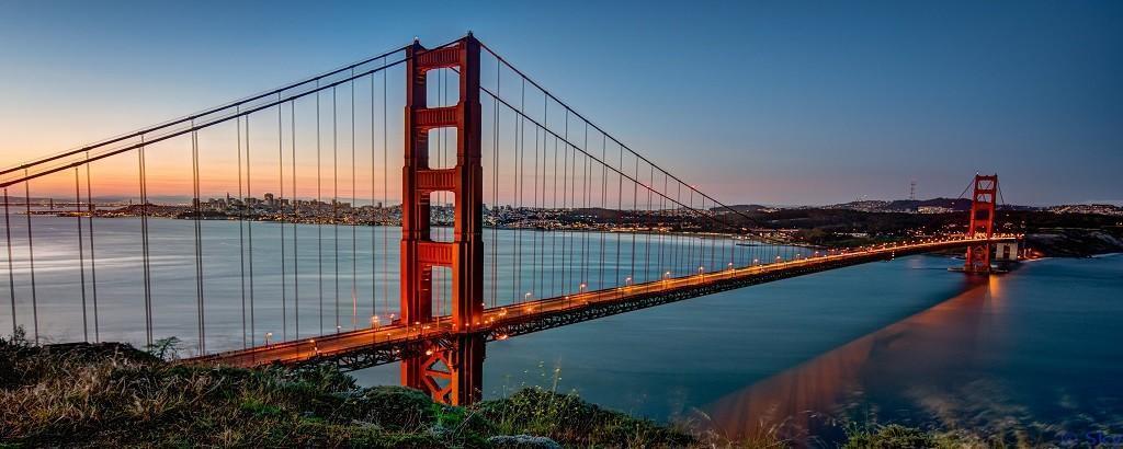 Work and travel'da seyahat imkanı golden gate köprüsü